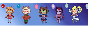 UNSOLD ADOPTS [4/7 OPEN] by LapinAijin