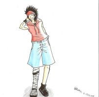 Luffy style by baka-saru-nickie
