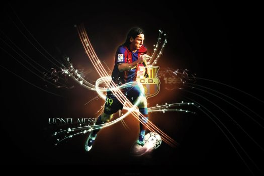 Lionel Messi by Cuca24
