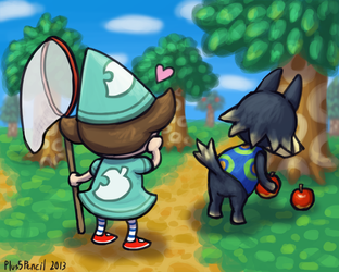 #1 Reason to move to Animal Crossing (WS) by Plus5Pencil