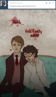 a Peaceful Nap [HannibalxWill] by Musapan