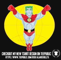 Captain Planet Tee by AlanSchell