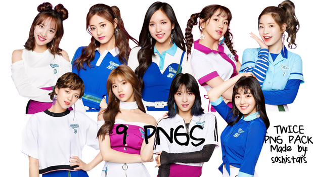 TWICE PNG Pack {One More Time} HQ by soshistars