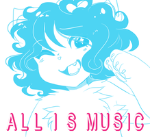 all is music | cover pic by darIinqq