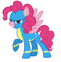 Pinkie Pie, the Wonderbolt by VirusAlert111