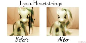 Before and After-Lyra Heartstrings by MidnightRarity