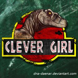 Clever Girl LOGO by DNA-Daenar