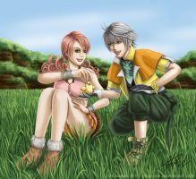 FFXIII: Keep Smiling by Chiaticle
