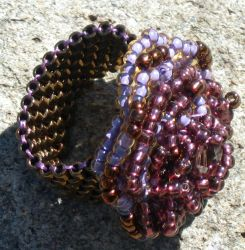 Rose Ring in Purples by MyFairLadyVT4
