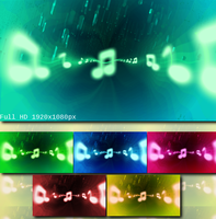 Music Is My Life Wallpapers Pack by LoversHorizon