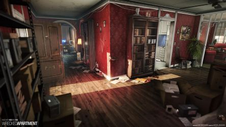 Wrecked Apartment by beere