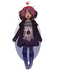 Quibbling - Little pink witch by secondlina