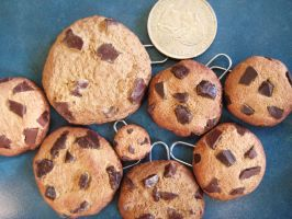 Realistic Cookie Charms by wolfie6