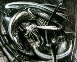 H. R. Giger XVII by CamillOnline