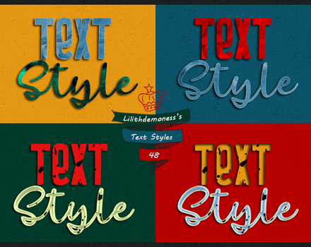 Text Styles  #48 by LilithDemoness