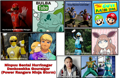 Hurricager Portrayed [Even More] Youtubers by Tabacookie