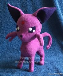 Espeon Plush / Plushie by CatWoman4ever