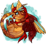 winged cat - CLOSED by Pirate-Reaper