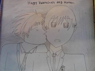 Happy Valentine's day, Haruhi. *Contest entry* by bellagorilla