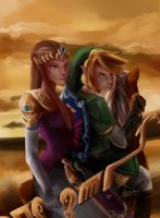 The Legend of Zelda by TheLittleGriffin