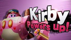 [SSB4 Splash Card] Kirby Powers Up! by Nintato