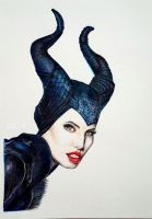 Maleficent by r2born