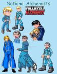 FMA - National Alchemists by RegineSkrydon
