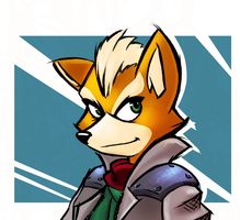 Fox McCloud Sketch by Isenrod