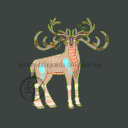 Stag design by byDaliaPamela
