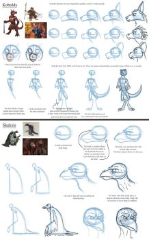 Notes on Kobolds and Skeksis by Expression