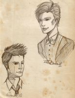 Sketch Book: Doctor Who by K9Darkice