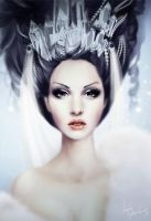 Queen of Diamonds by mosessa
