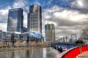 Melbourne City Scapes HDR by daniellepowell82