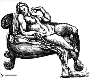 Reclining Nude by NoelleMBrooks