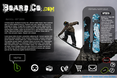 Board Co. - Snowboard Company by matt94gt