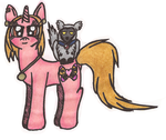 MyM: AU Cassie and Ace - Part 1 (MLP Universe) by Greenpolarbear47