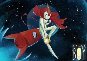 Space Boy by LowPriority