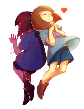 frisk [+speedpaint!] by mieille