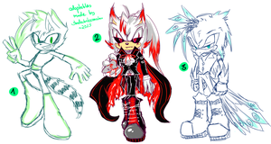 Sonic Adoptables #11 -  CLOSED by shadowhatesomochao