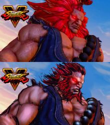 Akuma Street fighter v (customized) by ganstyle