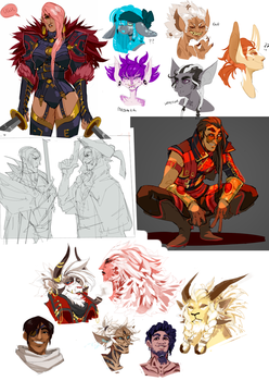 sketchdump0008 by guild-snail