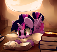 Readin' by Bloodatius