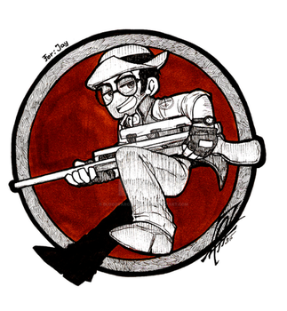 TF2 - Hey mate! - by BloodyArchimedes