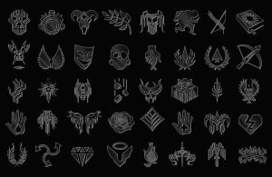 Dragon Age Custom Shapes by MediocreMemory