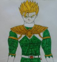 The Green Ranger (Super Sayian) by JQroxks21