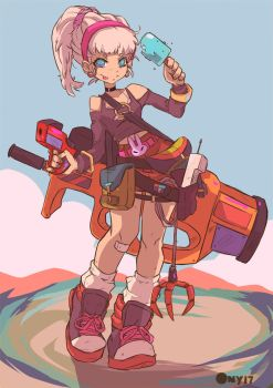 Shoota girl by Ony-b