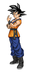 Son-Goku (Evolution style) by Elden-rucidor