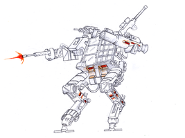ver of military mecha by egeres