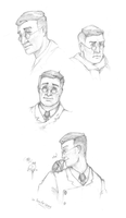 TF2 - Medic sketches by Tanita-sama