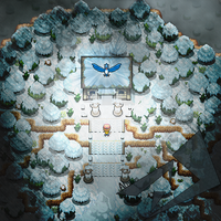 Temple Of The Legendary Snow Bird by Alucus
